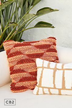 Sunset tones line up in a stripes-meet-diamonds pattern with gorgeous hi/lo texture. Chunky statement pillow is the kind you style the rest of your outdoor space around. Clay Texture, Pillow Texture, Pillow Reviews, Diamond Pattern, Your Style, Diamonds, Rest, Stripes