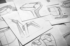 Sketches by Paulin Giret, via Behance