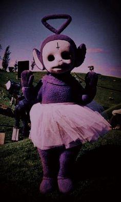 Creepypasta: The Truth Behind Teletubbies Tumblr Wallpaper Hd, Goth Wallpaper, Scary Wallpaper, Cute Wallpapers, Badass Wallpaper Iphone, Devil Aesthetic, Goth Aesthetic, Purple Aesthetic, Creepy Images