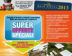 """Continuano le splendide offerte all'Hotel Baia Palinuro, in più dal 31 agosto al 6 settembre CORSO DI SUGAR ART con """"La Dolce Vit"""" Vittoria Borroni. Il corso è gratuito."""
