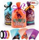 Konsait Halloween Candy Bags Party Bags Kids Trick Or Treat Bags Goody Ba Halloween Candy Bags, Halloween Party Supplies, Halloween Trick Or Treat, Trick Or Treat Bags, Candy Party, Kids Bags, Party Bags, Holiday, Ribbon