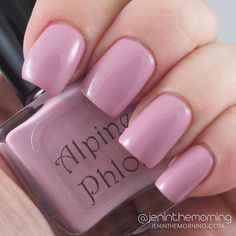 Lucky Lacquer Swatch, Alpine Phlox  #nail #nails #manicure #mani #luckylacquer #alpinephlox