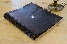 Album de fotos original, album artesanal, libro de hechizos negro noche, album de recuerdos, libro de sombras, libro de firmas boda