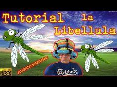 PALLONCINI MODELLABILI tutorial 13  LIBELLULA - YouTube