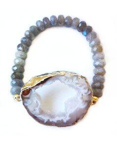 The Labradorite Bliss Bracelet