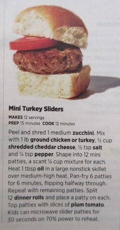 Mini Turkey Sliders