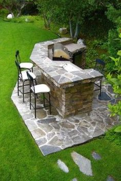 Bar....outdoor kitchen! by adele