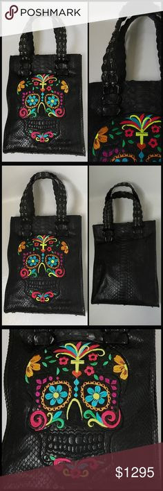 Spotted while shopping on Poshmark: OLD GRINGO ☠️ Genuine Python & Croc Tote NWT! #poshmark #fashion #shopping #style #Old Gringo #Handbags