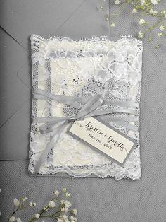 WEDDING INVITATIONS lace 044/laceW/z