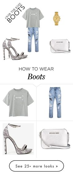 """""""BOOTS"""" by lucija-ilicic on Polyvore featuring Lacoste, Jeffrey Campbell and MICHAEL Michael Kors"""