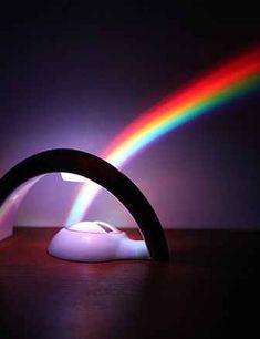 Rainbow in My Room Nightlight. Rainbow light projector projects a rainbow effect across your child's room! Rainbow Light, Rainbow Baby, My Room, Girl Room, Rainbow Bedroom, Urban Outfitters, Gadgets, Nightlights, Teen Girl Bedrooms