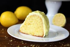 Homemade Lemon Pudding Cake. A from-scratch cake using lemon pudding for that extra decadence!