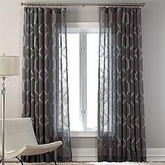 Cindy Crawford Sheer Window Curtain
