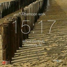 Heerlijk aan het strand, 12 oktober 2013