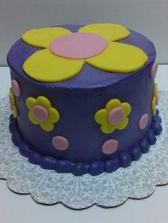 Flower power cake.