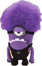 Despicable Me 2 Toy Factory 11 Inch JUMBO Plush Evil Minion [One Eye] New! $14.99