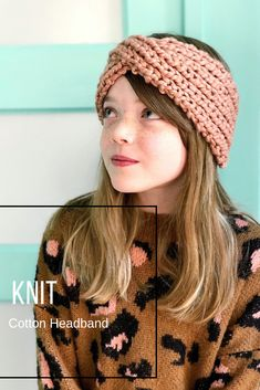 Get everything you need to #crochet a chic, chunky cotton headband, in the latest YarnYAY! by Vickie Howell subscription box. Knit and crochet patterns included! Pattern by Loopy Mango
