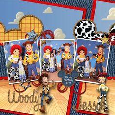 Toy Story | Disney Scrapbooks | Disney Scrapbooking | Disney Scrapbooking Layouts | Disney Scrapbook Ideas | Disney Scrapbooking Ideas |