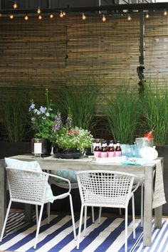 How to Style an Outdoor Space | The Everygirl