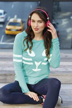 VK Spring 2014, Fitness, Graphic Sweatshirt, Exercise, Sweatshirts, Sweaters, Clothes, Style, Fashion