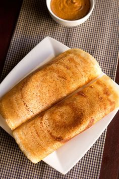 dosa made with rice flour and urad dal flour. this is an easy and fuss free version of making dosa. just mix the rice flour, urad dal flour with water. all