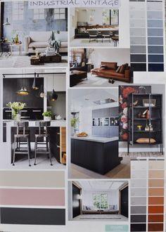 STIJLIDEE Woonstijlen 2017   Moodboard: STIJLIDEE Interieuradvies en Styling   Industrial Vintage via www.stijlidee.nl
