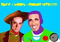 buzz + woody=friends 4 evr!!! Bad Fan Art, Woody, Friends, Amigos, Boyfriends, Woody Allen Quotes