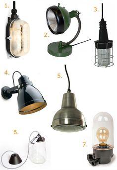 Budget find: industriële lampen onder de 45 euro (Roomed)