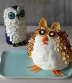 Cheese lovers! Swap the cheese ball for this cheese owl at your next party - Today Show