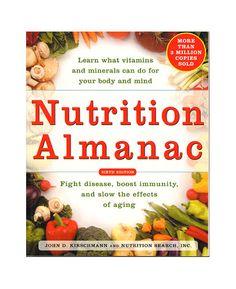 Nutrition Almanac | Endeavour Bookstore