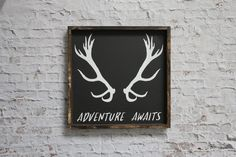 This beautiful wood sign is great for a modern rustic bedroom, entry way or living area.The warm wood always adds a nice touch of charm and warmth to a room.P
