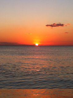 Ah, sunset on Venice Beach, FL