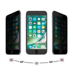 . Protector cristal templado privacidad para iphone 7 plus..protege tu privacidad con este protector que solo permite la visualizaci�n frontal de la pantalla,mostr�ndose opaca desde cualquier perspectiva lateral. as� puedes utilizar tu dispositivo en p�blic