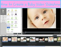 #1 Make a special movie or a slideshow of baby's first year and play it while everyone is enjoying cake or any time you feel is convenient. ~ Baby's First Birthday: Creative and Fun Ways to Make it Special