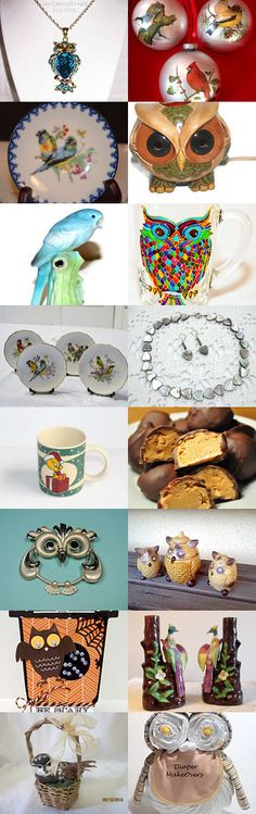 Birds of a Feather Flock Together-PPT by Lori G on Etsy--Pinned with TreasuryPin.com
