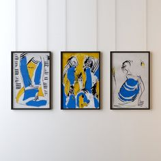 Buy SR Acrylic painting by Alex Sojic on Artfinder. Acrylic Painting On Paper, Triptych, Art Drawings, My Arts, Ink, Portrait, Artwork, Things To Sell, Art Work
