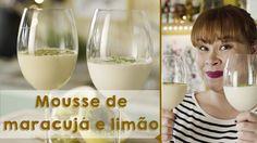 Dose dupla de mousses: limão e maracujá - YouTube