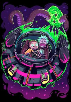 rick and morty art - Pesquisa Google