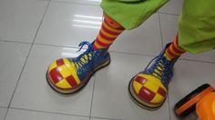 Los pies del payaso