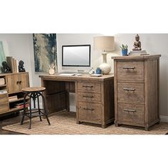 File your important documents in this hand-crafted legal-size file cabinet made from reclaimed pine with iron hardware. Each handmade cabinet is unique, with possible variations in color and wood knots. The solid wood construction and classic design make this a piece you can keep... more details available at https://furniture.bestselleroutlets.com/home-office-furniture/home-office-cabinets/product-review-for-kosas-home-kasey-desert-reclaimed-pine-handcrafted-3-drawer-filing-c
