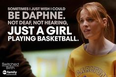 Switched at Birth- Daphne Favorite Tv Shows, Favorite Quotes, Best Quotes, Switched At Birth Quotes, Freeform Tv Shows, Looking For Alaska, Abc Family, Tv Show Quotes, Girl Meets World