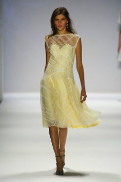 tadashi shoji 2014 | Tadashi Shoji Spring 2014: Metallics and Fringe Add a Modern Twist...Change the color but keep the details. Add embellishment according to your taste.