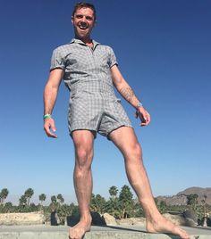 Jack Shears of Scissor Sisters wearing the Mr.Turk Jumpsuit!