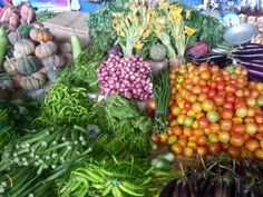 Fresh vegetables at Villasis Bagsakan Center