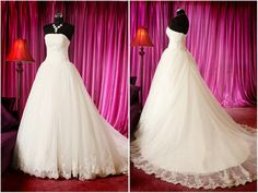 lace wedding dress gown custom dress gown fairytale princess wedding dress gown plus size gown dress. $120.00, via Etsy.