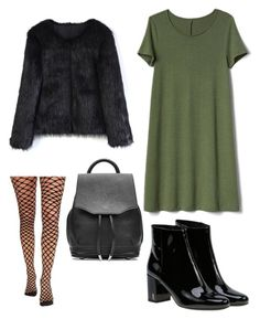 """""""maniac3"""" by babicki19 on Polyvore featuring Gap, Chicwish, Yves Saint Laurent and rag & bone"""