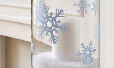 Crafts n' things Weekly - snowflake candle holder