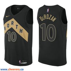 d6cae4256 Men s NBA Toronto Raptors  10 DeMar DeRozan Nike Swingman City Edition  Black Jersey. lily brown · NBA Toronto Raptors and Utah Jazz Jerseys