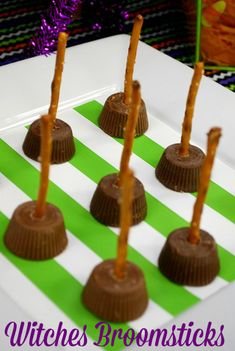 Halloween Food | Witches Broomsticks