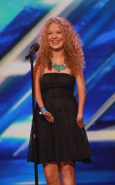 Cheryl blue dress x factor rion
